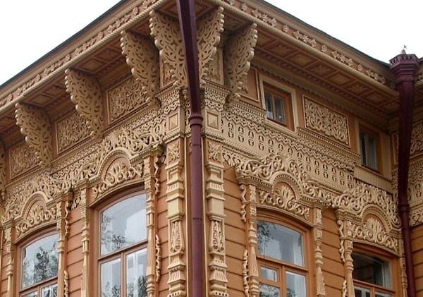 Деревянная архитектура Томска фото