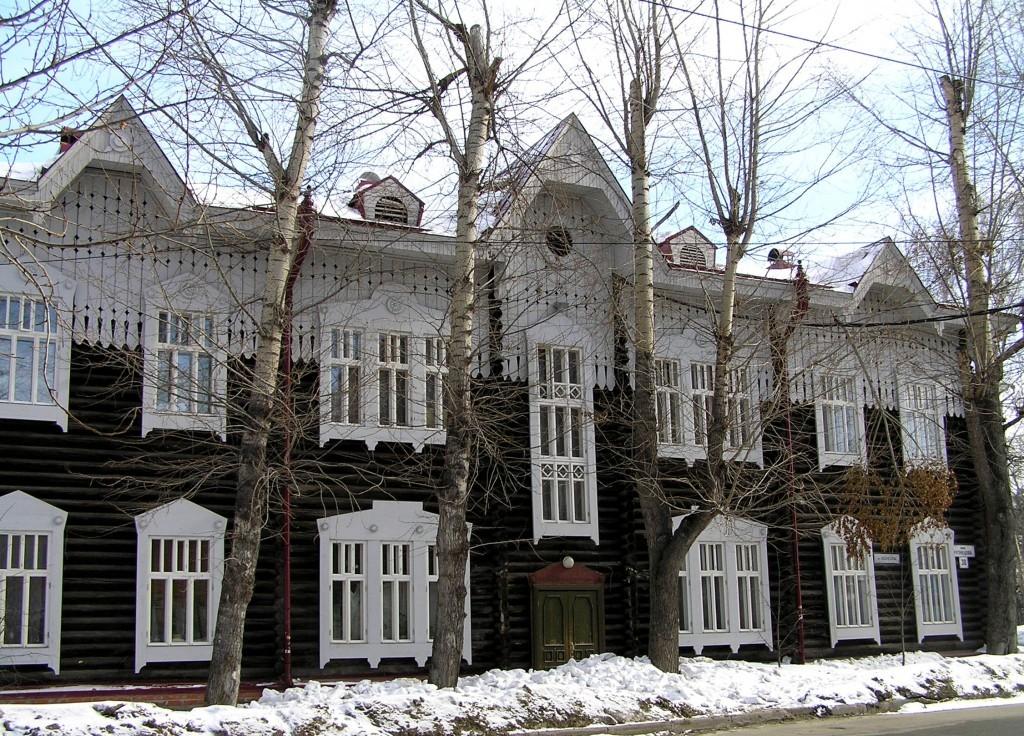 Деревянный дом, Томск