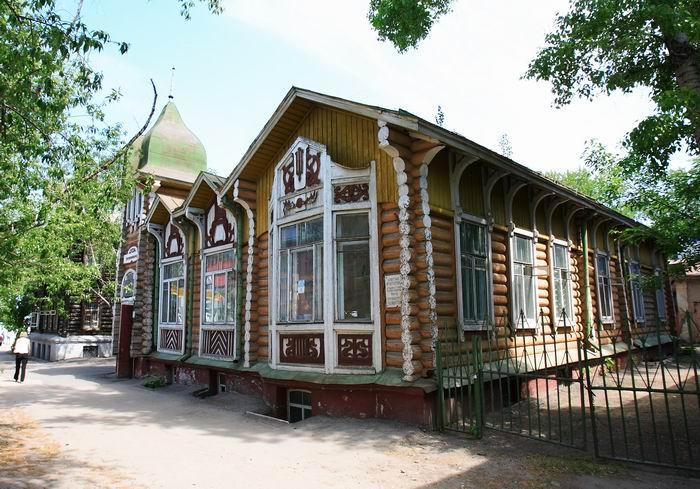 Дом купца Громова в Томске