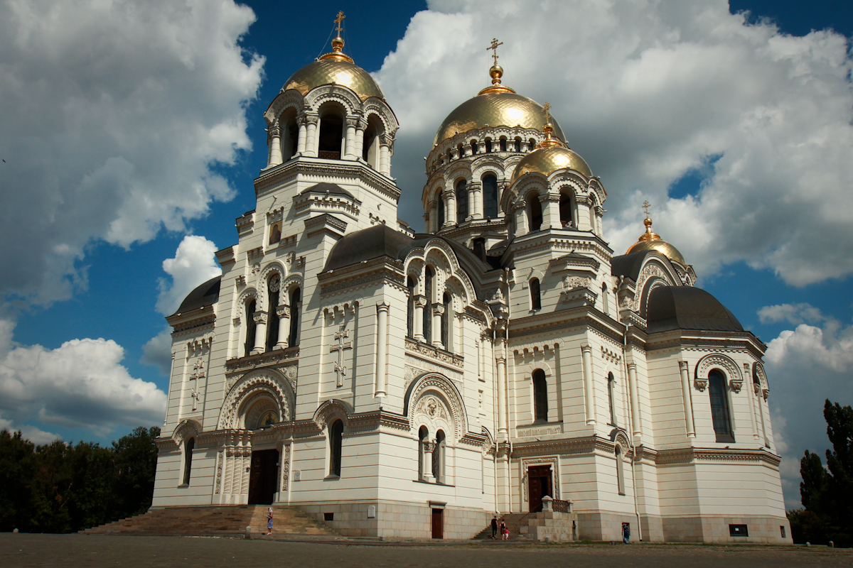 Фото Вознесенский войсковой собор в Новочеркасске