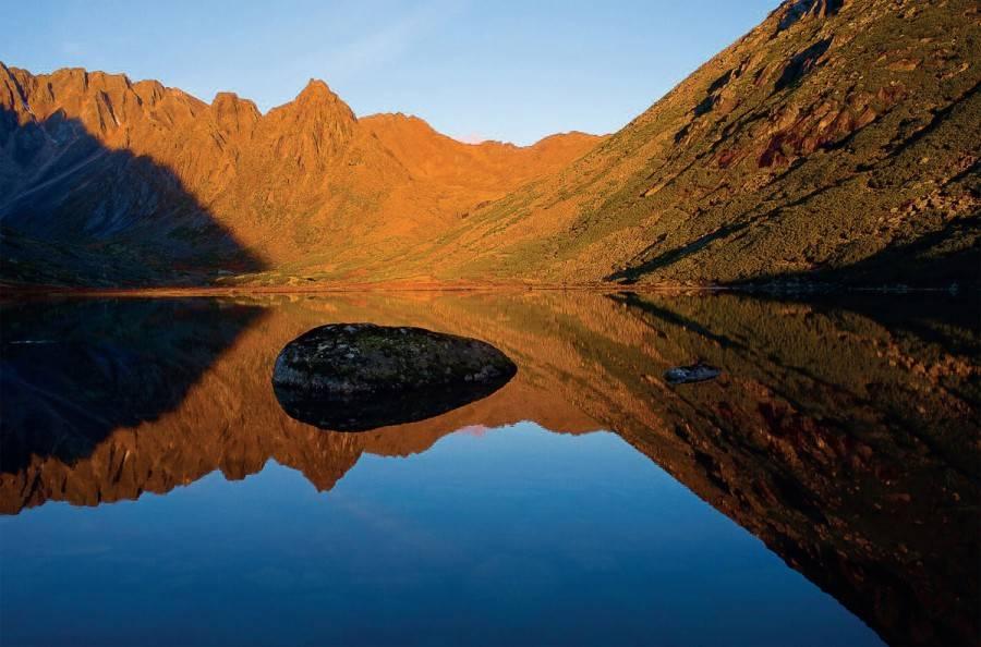 Фото озеро Джека Лондона Магаданская область