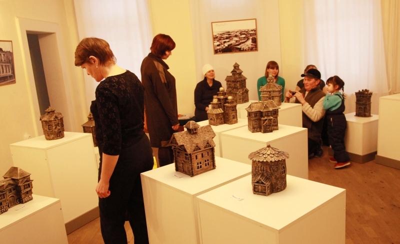 Экспозиция музея деревянного зодчества Томска