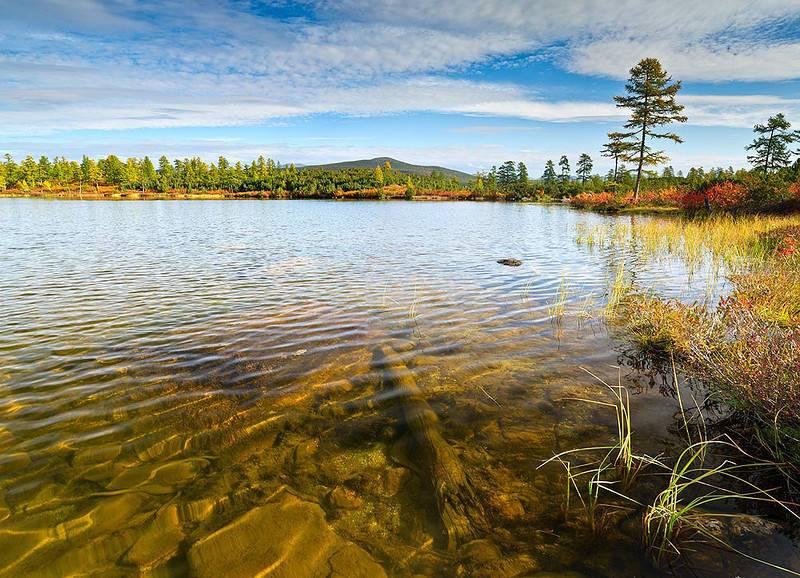 фото озеро Джека Лондона в Магаданской области