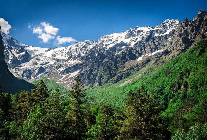 Цейское ущелье в Северной Осетии фото