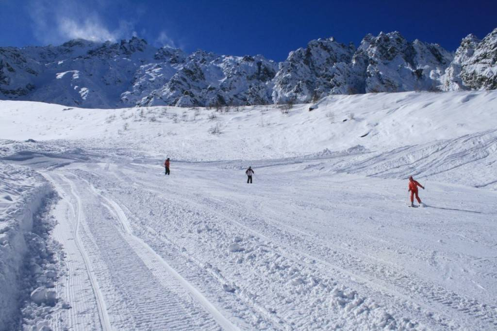 Цейское ущелье горнолыжный курорт фото