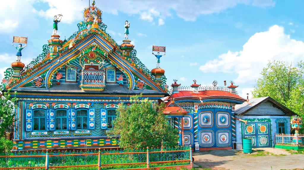Дом кузнеца Кириллова село Кунара фото