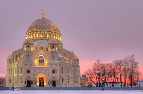 морской никольский собор кронштадт фото
