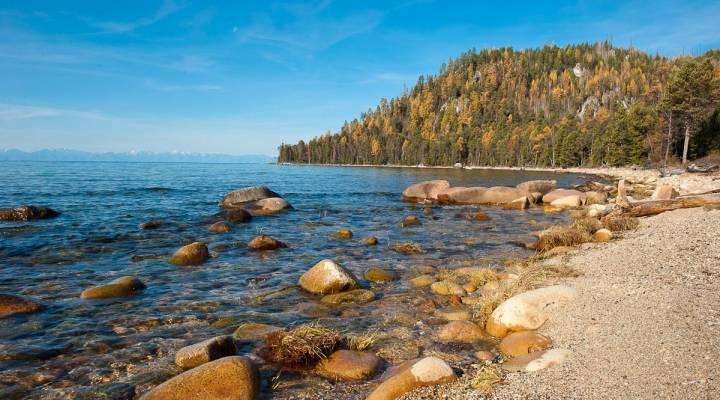 Озеро Байкал Баргузинский заповедник Бурятия Россия фото