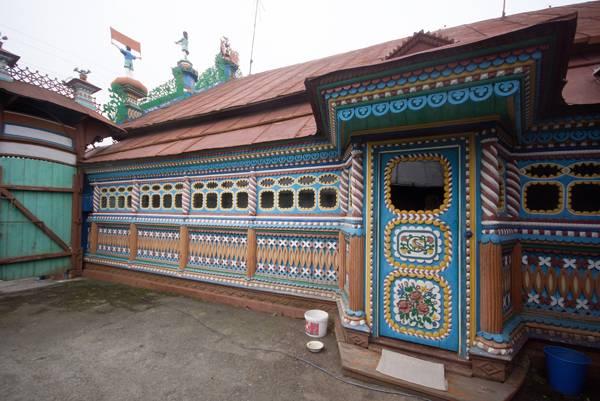 Орнаменты зданий дом кузнеца Кириллова село Кунара фото