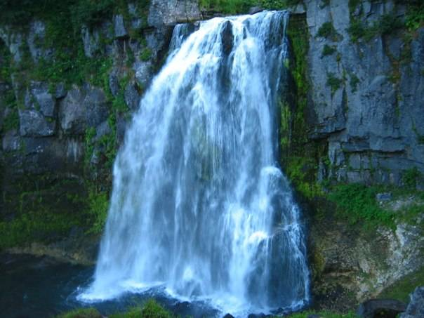 Вилючинский водопад Камчатка фото