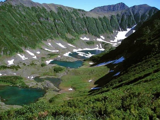 Голубые озера Камчатка фото
