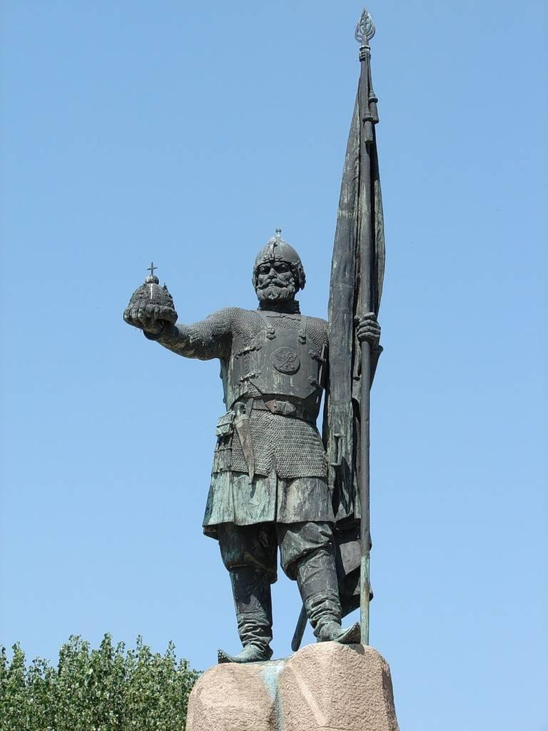 Монумент Ермаку фото