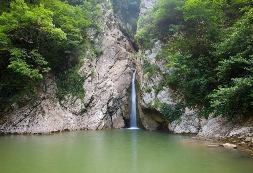Сочи Агурские водопады фото
