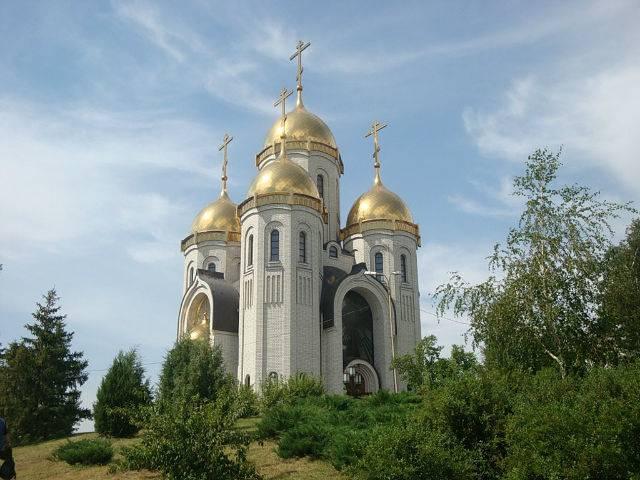Храм всех святых Волгоград достопримечательности фото