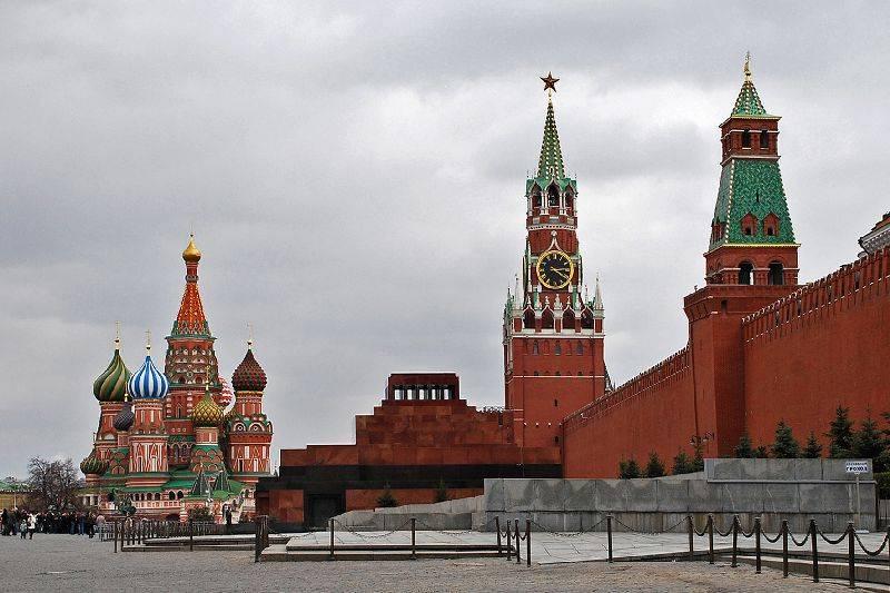 Красная площадь в Москве фото