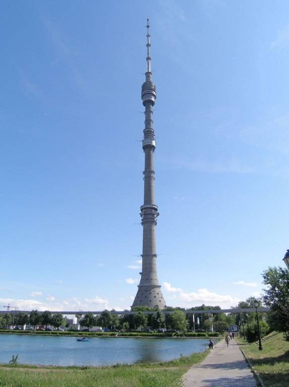 Останкинская телебашня Москва фото