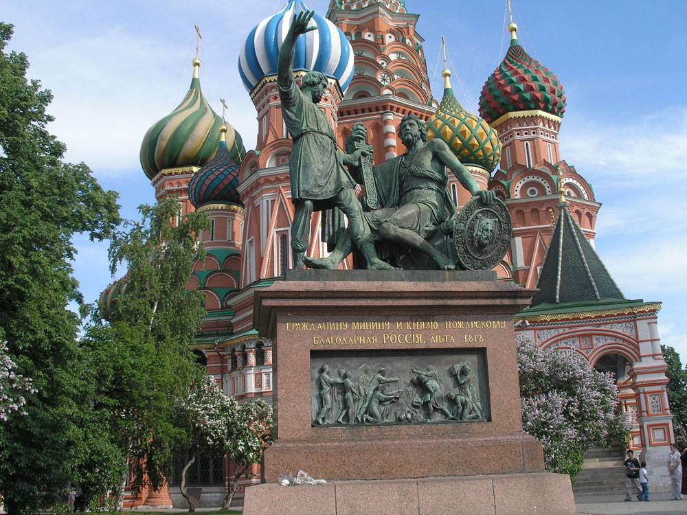 Памятник Минину и Пожарскому фото