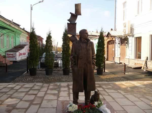 Памятник М. Булгакову Северная Осетия фото