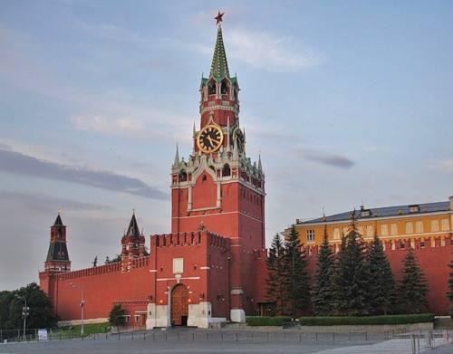 Спасская башня Москва фото