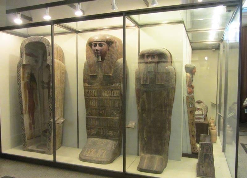 Египетский зал Эрмитаж фото