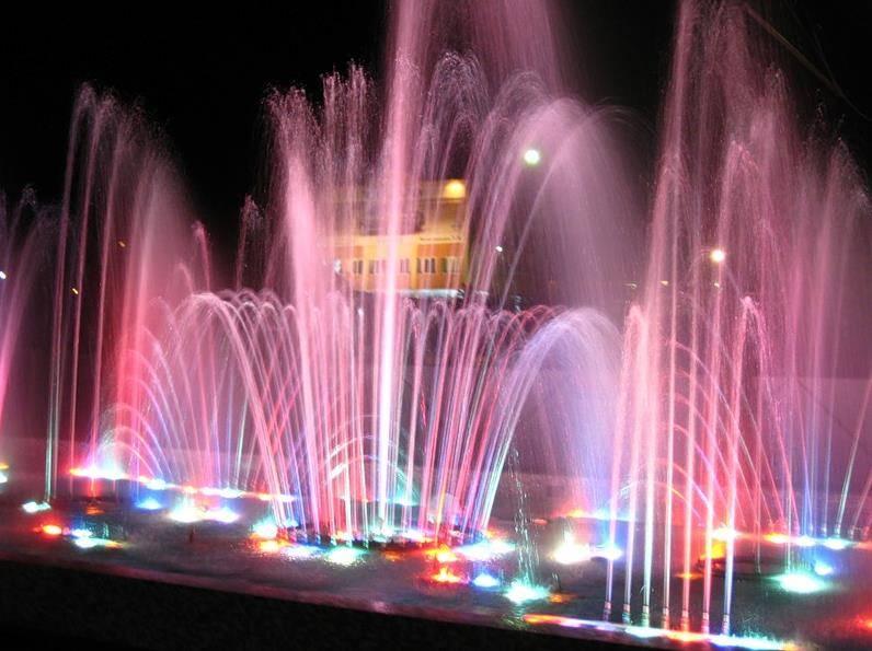 Музыкальный фонтан Белгорода фото