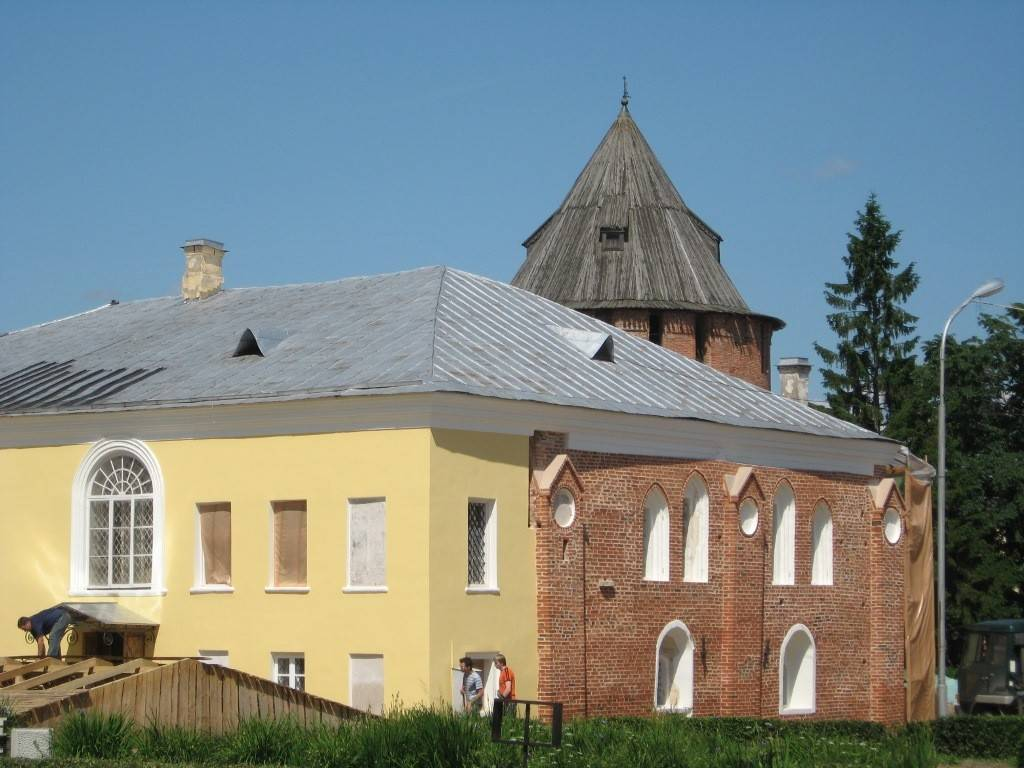 Владычная (Грановитая) палата в Великом Новгороде