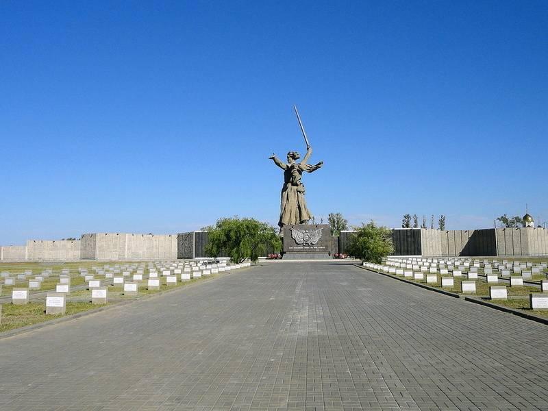 Воинское мемориальное кладбище на Мамаевом Кургане
