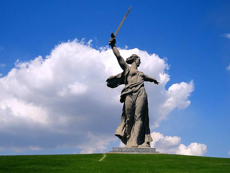 Статуя Родина мать, Мамаев Курган, Волгоград