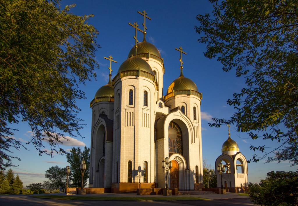 Храм на Мамаевом кургане Волгоград