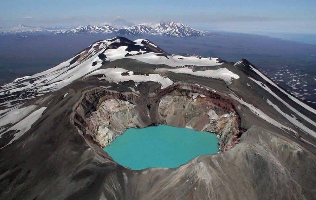 Вулкан Большой Семячик в Кроноцком заповеднике