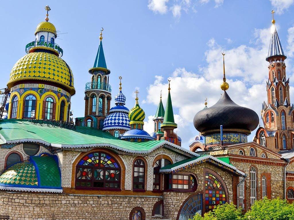 Храм всех религий в Казани фото