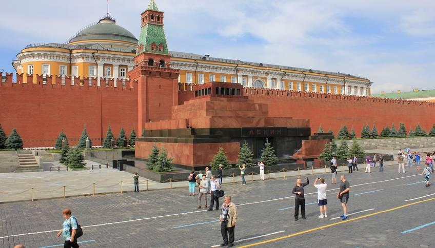 Мавзолей Ленина фото