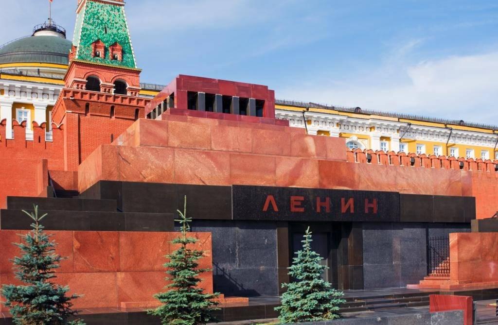 Мавзолей в Москве фото