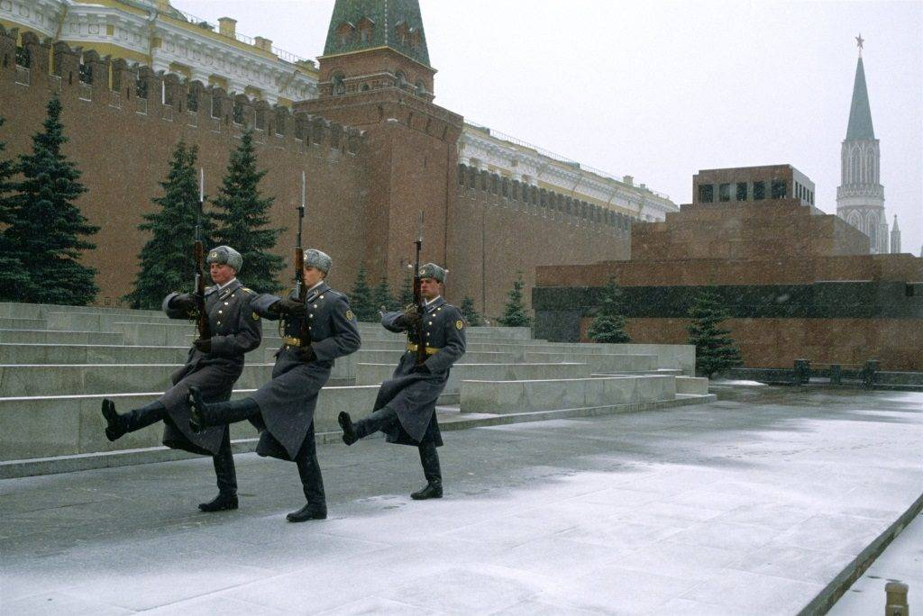 Мавзолей на Красной площади фото