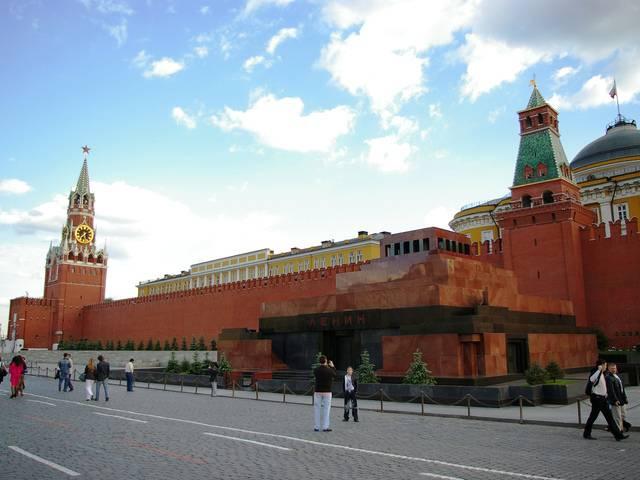 Москва, мавзолей В.И. Ленина фото
